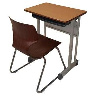 Set School Table and Chair and Training Chair