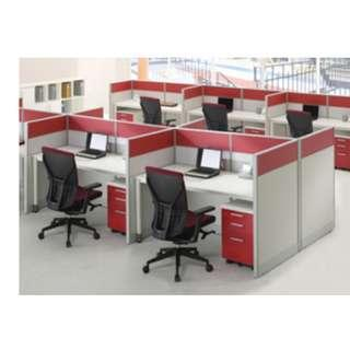 Partition office Workstation and Cubicle Korea Materials