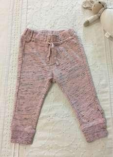 H&M girls thick pants (12-18mths)