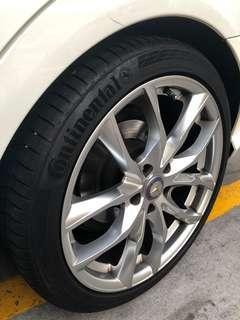 "18"" sports rims Mercedes"
