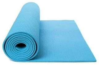 ⚡ Sky Blue Yoga Mat