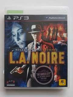 Ps3 L.A. Noire Game