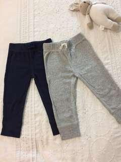 Carter girls long pants (grey & blue)
