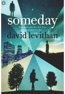 Someday (Every Day #3) by David Levithan
