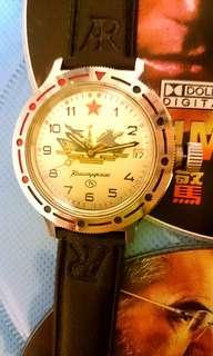 蘇聯特工間諜手錶( 撞陀機械手錶)