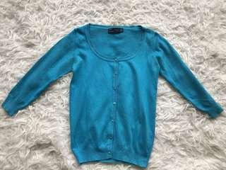 Preloved Zara knit cardigan small
