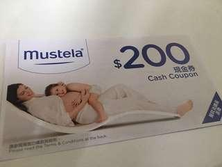 Mustela $200 cash coupon