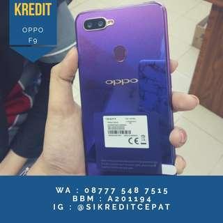 Kredit Oppo F9 4/64 free 1x angsuran