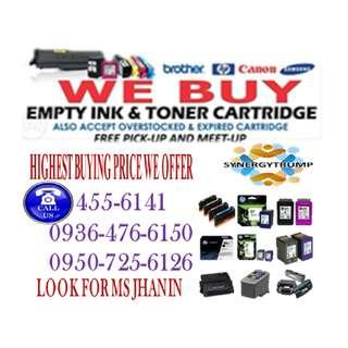 Highest Buying Price We Offer Buyer Of Empty Ink Cartridges and Toner