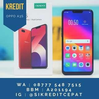 Kredit Oppo A3s 2Gb bisa gan