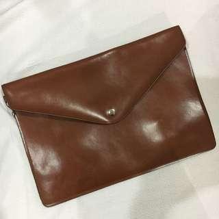 bn Brown Clutch Bag