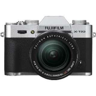 Fujifilm X-T20 and 18-55mm F2.8-4 (Silver)