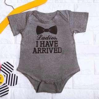🚚 Instock - ladies I have arrived romper, baby infant toddler girl boy