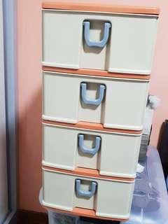4 tiers storage box