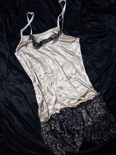 Silky lingerie