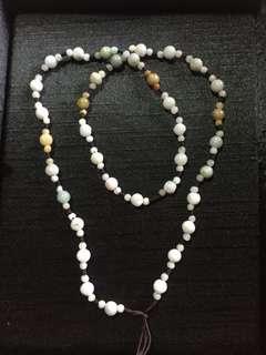 🚚 緬甸玉圓珠項鍊