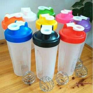 Durable 600ML Smart Shake Protein Shaker Mixer Cup Bottle Drink Whisk Gym