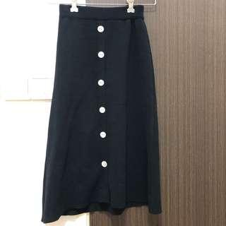 Black Skirt not functional button