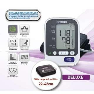 🚚 Brand New! - Large Cuff - Omron Automatic Blood Pressure Monitor - HEM 7130L - 60 Memories with Date and Time