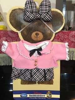 Unibearsity 大學熊S size 公仔衫裙