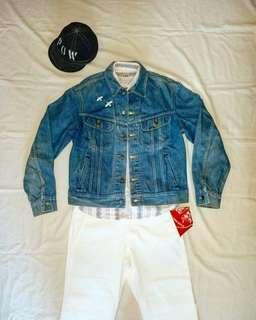 🇺🇸美國製1980s Vintage Lee Cowboy Denim Jacket (100%Vintage)