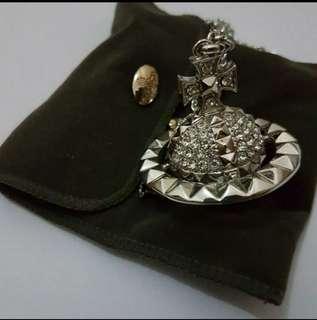 Vivienne Westwood Mayfair 3D ORB Large Pendant Necklace 頸鏈