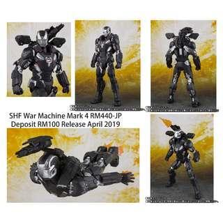SHF Infinity War War Machine Mark 4 RM440-JP