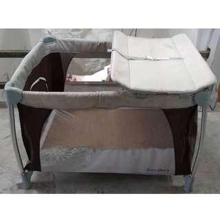 Baby Cot Play-pen Sweet Cherry * 8-10 AF