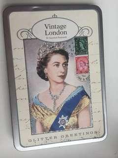英女皇紀念postcard 明信片