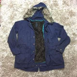 Parka GAP Jacket Blue Navy