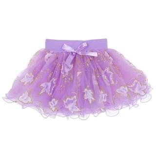 🚚 Instock - purple sequin skirt, baby infant toddler girl