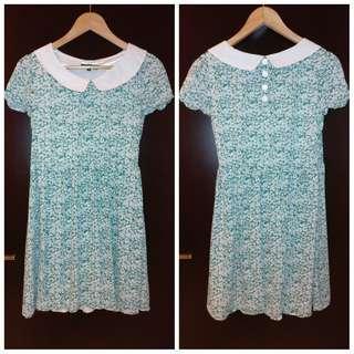 Misch masch vintage floral dress 裙