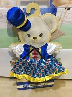 Disney Unibearsity 大學熊藍色裙(S size公仔適用)