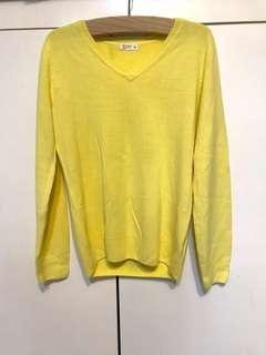 🚚 全新·鵝黃色毛衣