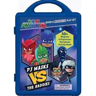 BNIB: PJ Masks Vs the Baddies (Magnetic Playset)
