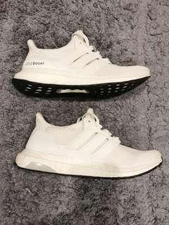 Adidas ultra boost all white size 40