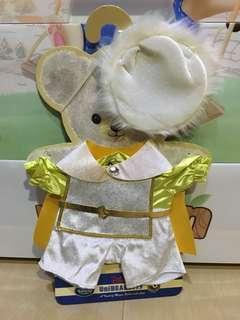 Disney Unibearsity 大學熊皇子公仔衫 S size