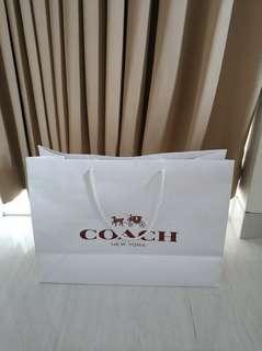 Paper bag coach