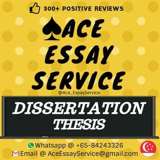 Dissertation/Thesis 👨🎓👩🎓🏆💯                       Assignment Essay