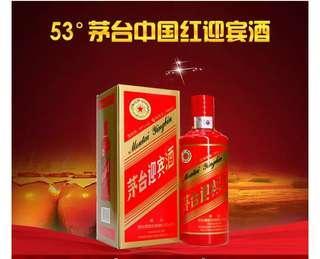 茅台迎賓 (中國紅) 53%vol 500ml