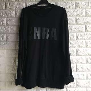 NBA black crew neck