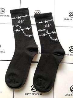 "INSTOCKS Black ""032C"" Long Socks"