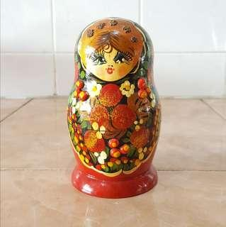 Collectible matryoshka doll