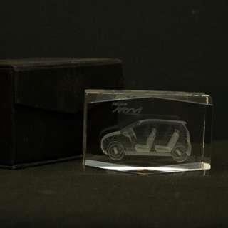 Myvi Crystal Paper Weight