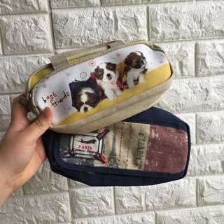 Large pencil cases 5$ each 8$ both