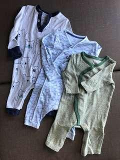 F&F and Old Navy onesies