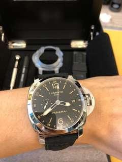 罕有少見款Panerai PAM00531 GMT watch 手錶 香港罕見 PAM 531 有單