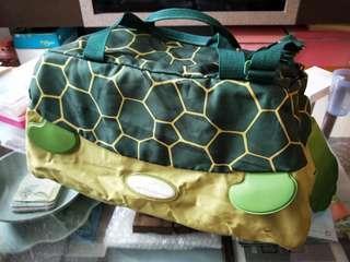 Samsonite Sammies Children Travel Sling Bag (Turtle Design)