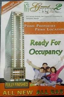 RFO condo in UST