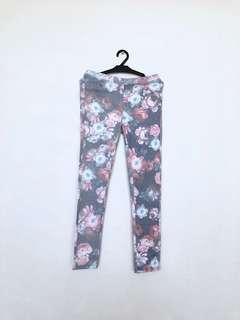 Mango Floral Jeans